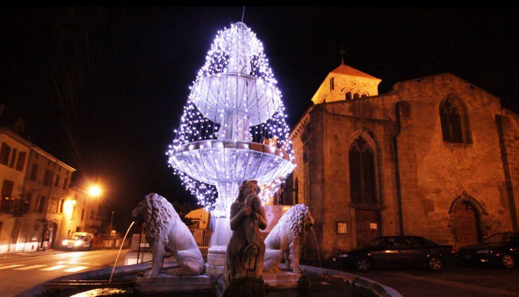 Illuminations Fontaine